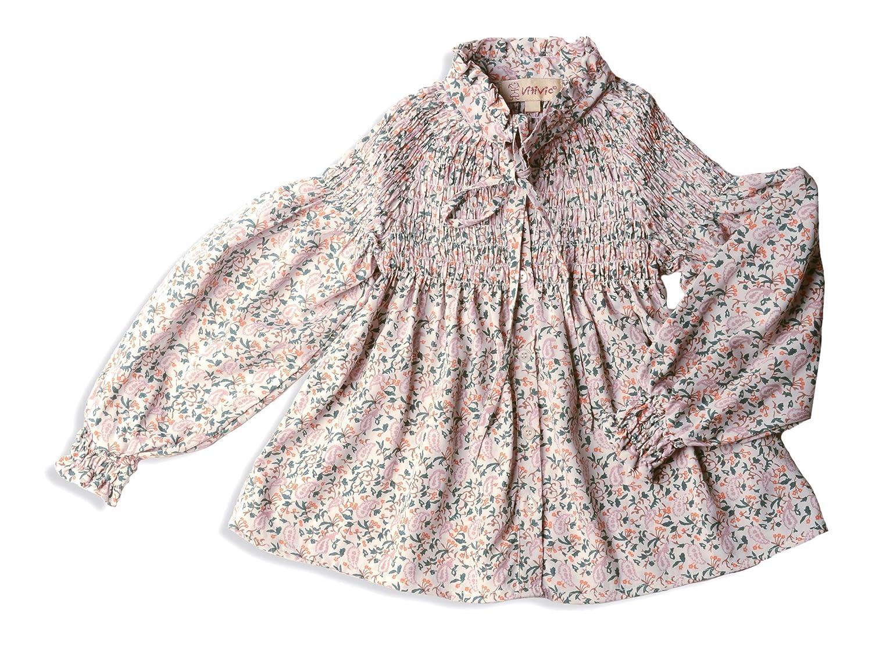 VITIVIC Portugal Amebas Fondo Gris, Blusa para Bebés Blusa infantil flores Fondo Gris 4 Años 102819