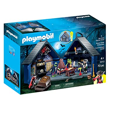 PLAYMOBIL Take Along Haunted House: Toys & Games