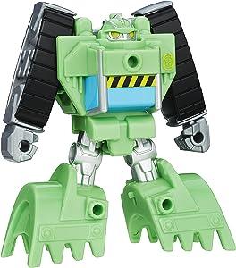Héroes Playskool Figura Transformers Rescue Bots Reexplorar Boulder Construcción Bot Acción Figura de acción