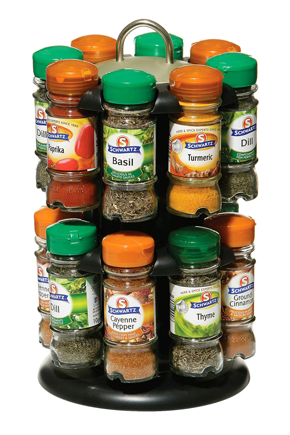 best spice rack with spices included