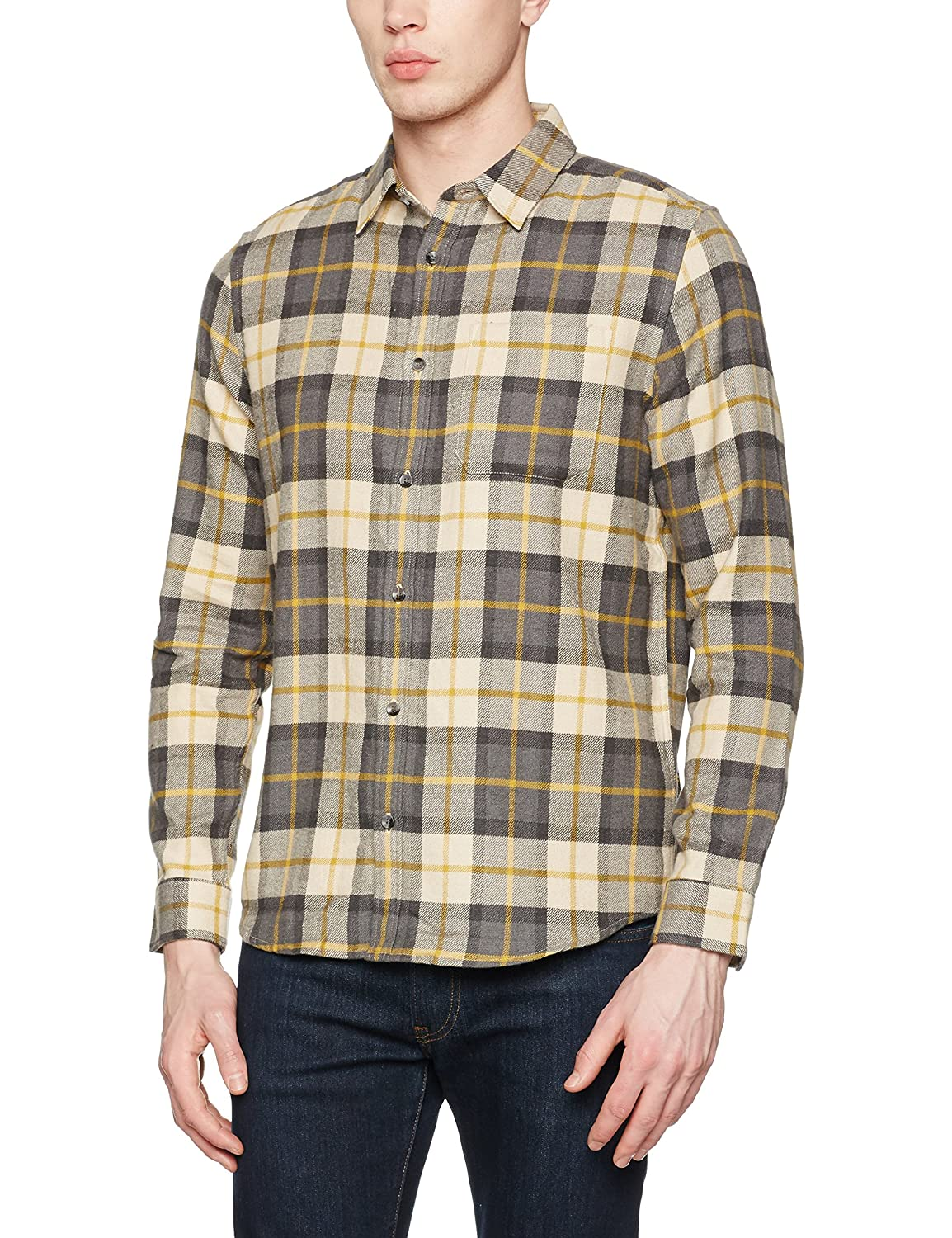 New Look Cumin Highlight Check Camisa Casual para Hombre