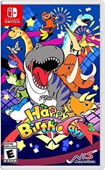 amazon com happy birthdays nintendo switch sega of america inc