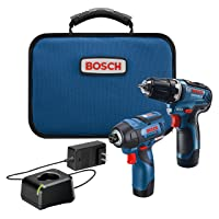 Deals on BOSCH 12V Max 2-Tool Combo Kit w/Drill, Impact Driver, Batteries