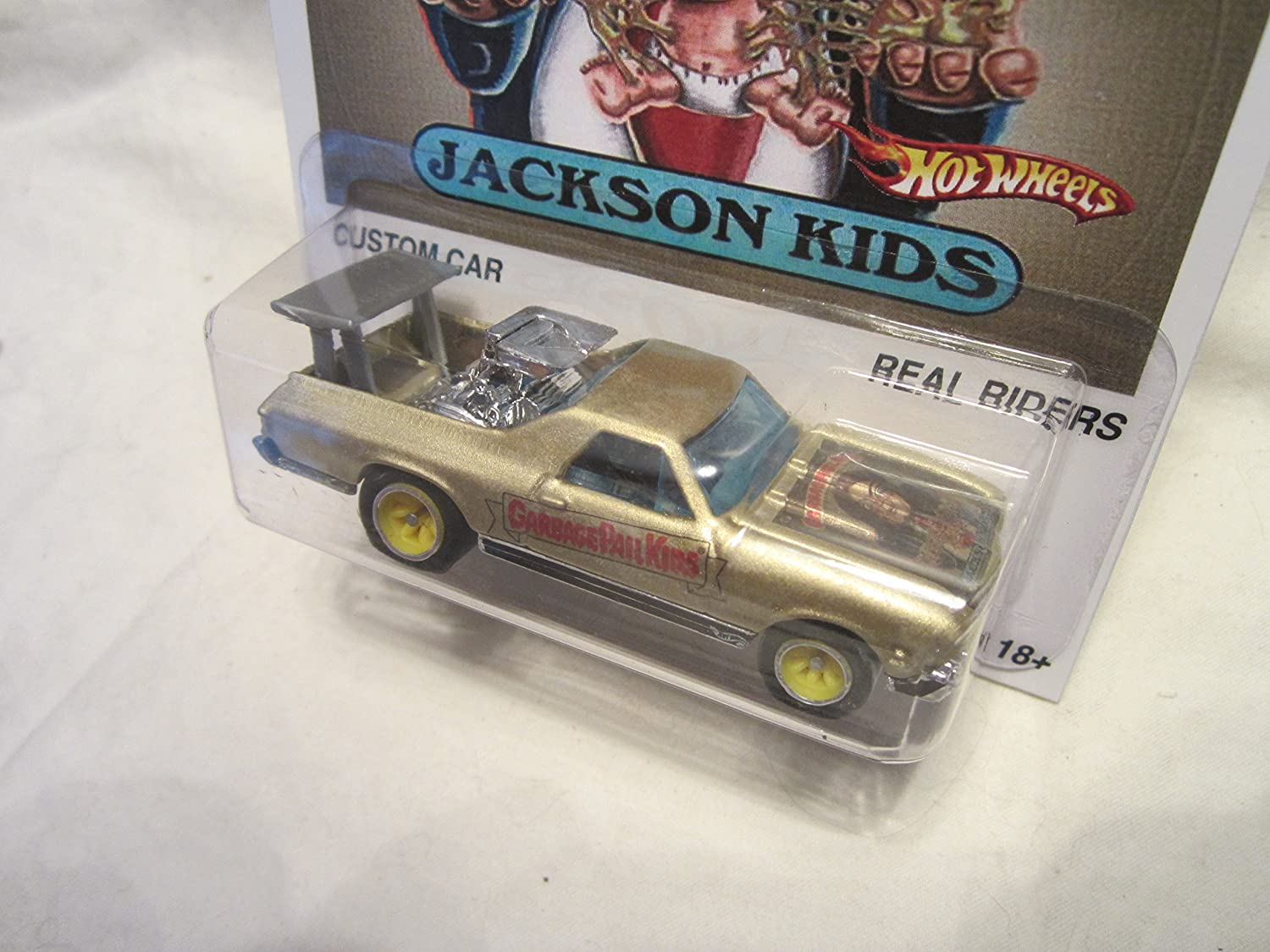 Amazon.com: Hot Wheels Custom 68 el camino cubeta de basura ...