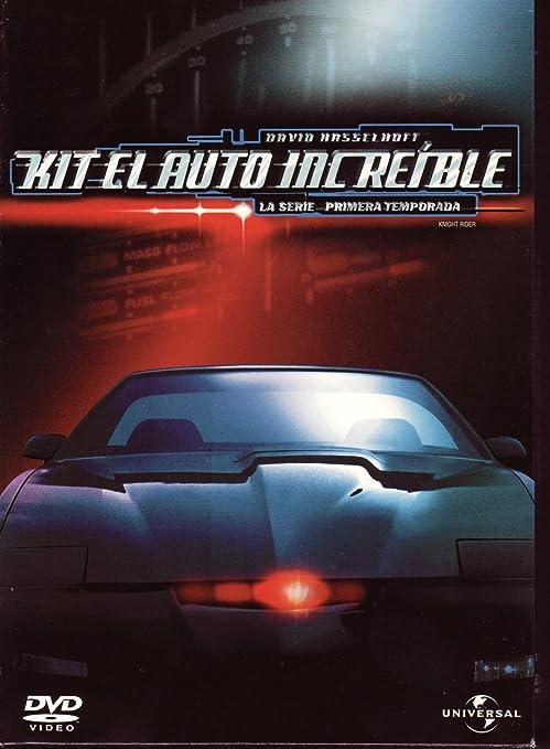 Amazon Com Kitt El Auto Increible La Serie 1a Temporada Knight Rider First Season Ntsc Region 1 2 4 Import Latin America Movies Tv
