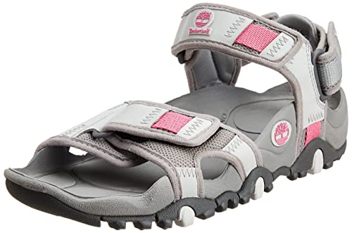 bfcc2785c20 Timberland Women s Fashion Sandals Multicolour Grey and Pink  Amazon ...