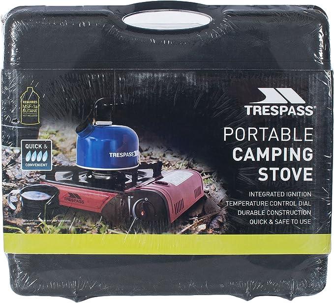 Trespass Gastro Camping Gas, Unisex Adulto, Rojo (Red), Talla ...