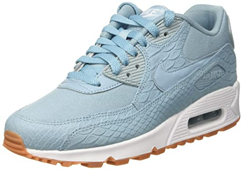 wholesale dealer 477df da1d3 Nike Women s s WMNS Max 90 PRM Sneakers Turquoise mica Blue Gum Yellow, ...
