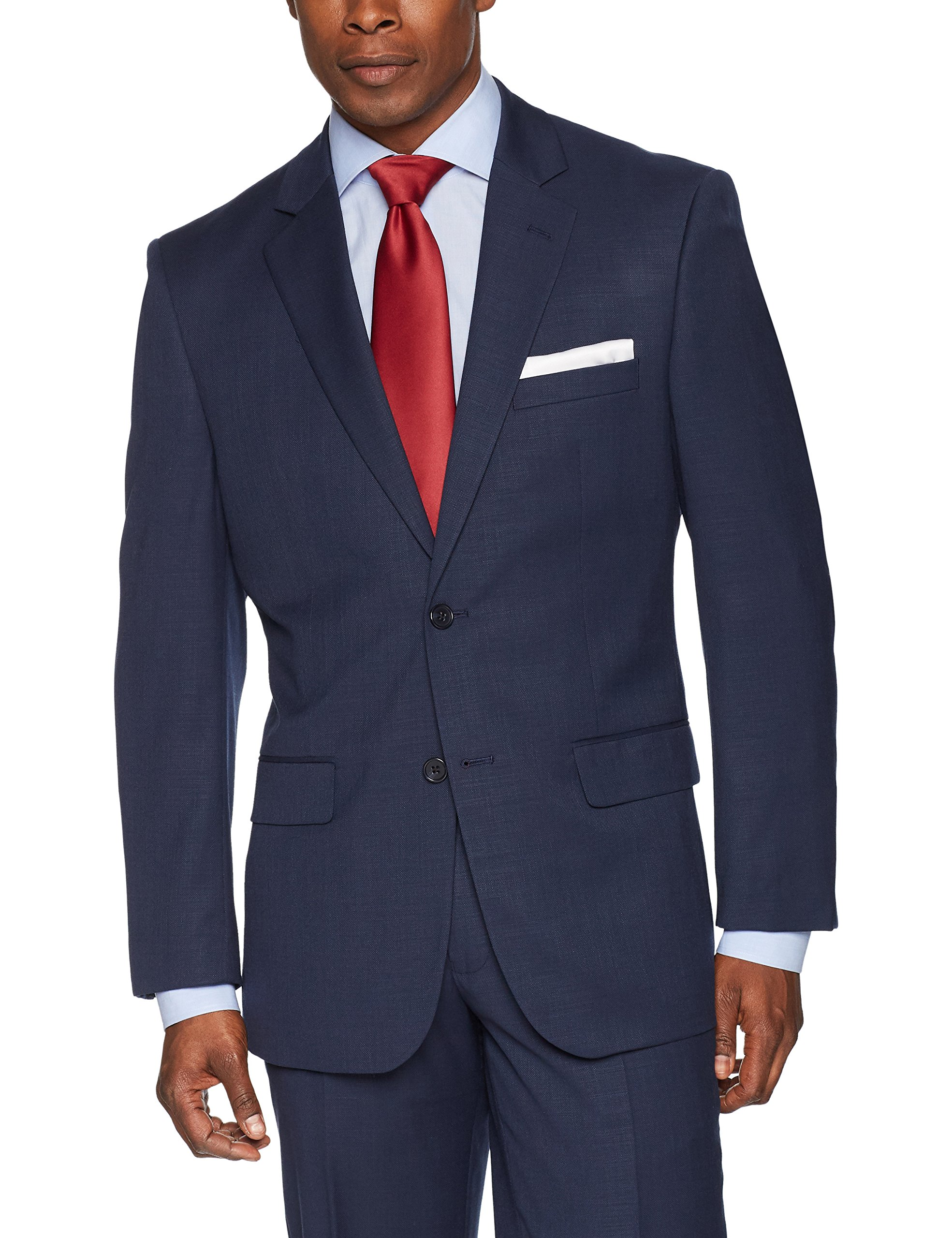 Jones New York Men's Suit Separate Blazer (Blazer and Pant), Navy, 38R by Jones New York