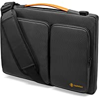 tomtoc 15 inch Laptop Sleeve Shoulder Bag Compatible with 16-inch MacBook Pro 2019, 15-inch MacBook Pro A1398, Dell XPS…