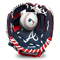 Franklin Sports MLB Youth Teeball Glove and Ball Set - Kids Baseball and Teeball Glove and Ball - Perfect First Kids…