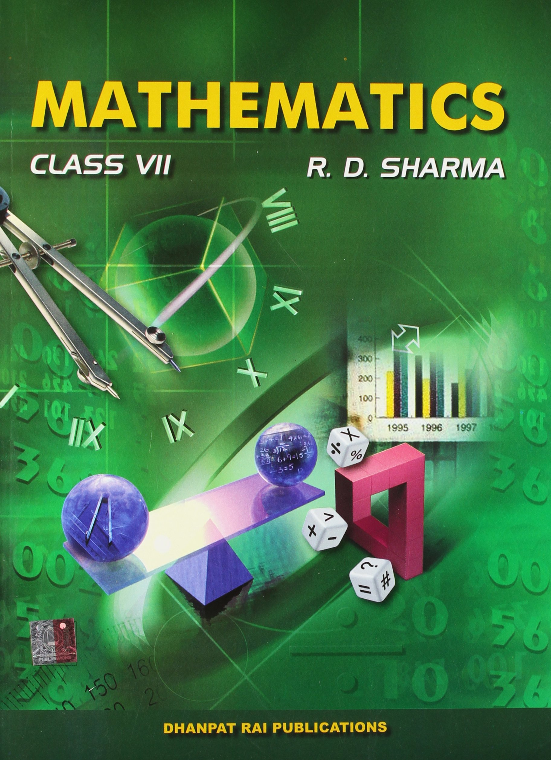 Mathematics For Class Vii Old Edition Amazon In R D Sharma Books
