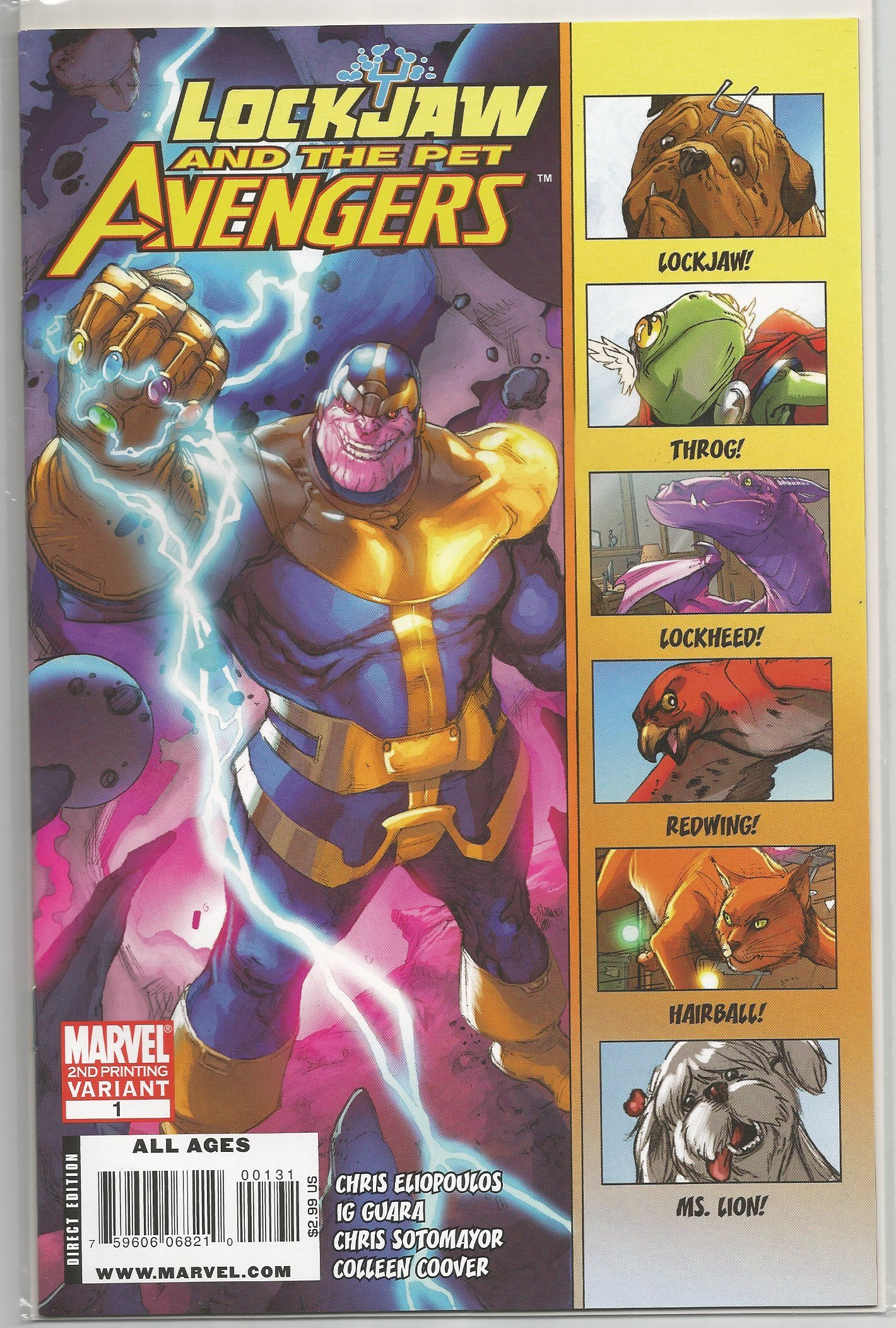 Download Lockjaw and the Pet Avengers #1 2nd print ebook