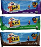 CLIF Kid Organic ZBar Baked Whole Grain Energy Snack, Variety Pack (36 bars)