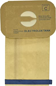 EnviroCare Replacement Micro Filtration Vacuum Cleaner Dust Bags Made to fit Vacuum Bags for Electrolux Canisters Style C 24 Pack