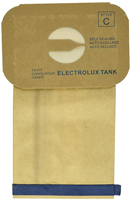EnviroCare Replacement Vacuum Bags for Vacuum Bags for Electrolux Canisters Style C 24 Pack