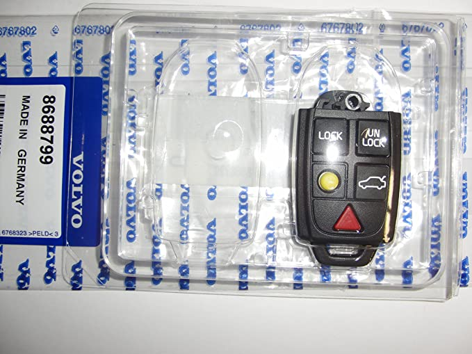 Amazon.com: Genuine Volvo Keyless Remote Key Fob #8688799 Fits Many Vehicles - See List NEW: Automotive