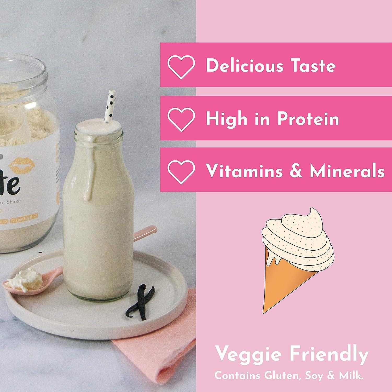 Cute Nutrition Batido de Reemplazo Sabor Vainilla para el Control ...