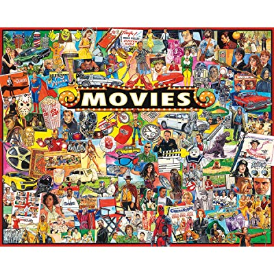 White Mountain Puzzles The Movies - 1000 Piece Jigsaw Puzzle: Toys & Games