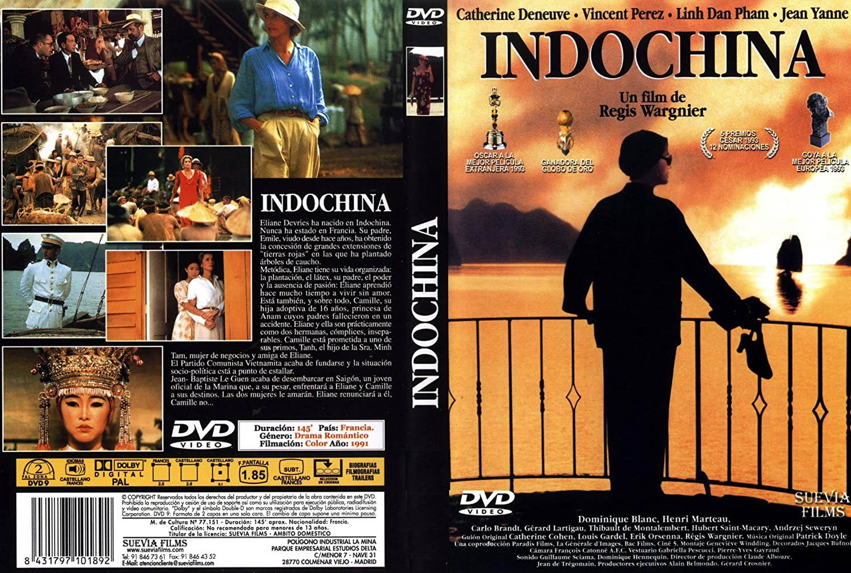 Resultado de imagen de catherine deneuve Indochina