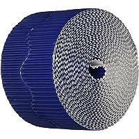 "Bordette 0037206 Scalloped Decorative Border, 50' Length x 2-1/4"" Size, Royal Blue"