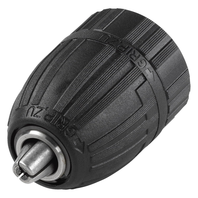 Wolfcraft 2642000 Schnellspannbohrfutter 1,5-13 mm, Innengewinde, Rechts- und Linkslauf, fü r Akku-Bohrmaschinen 1/2' x 20 fü r Akku-Bohrmaschinen 1/2 x 20