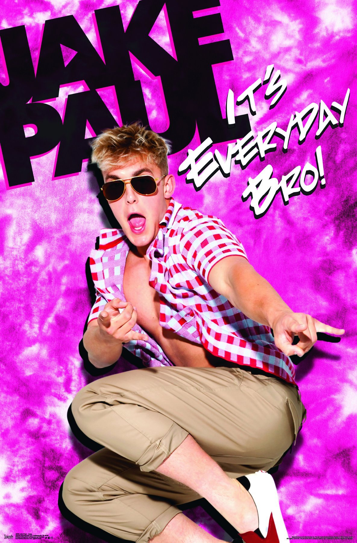 Trends International Jake Paul-Jump Premium Wall Poster, 22.375'' x 34''