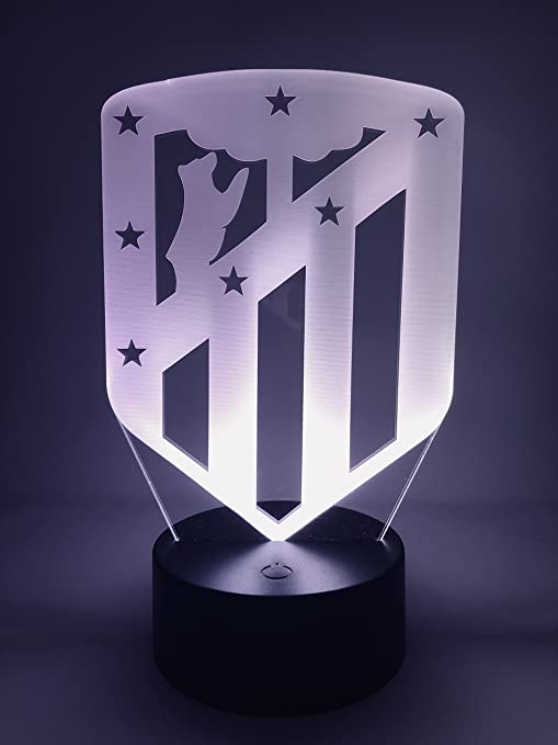 Atlético de Madrid Lampara Led