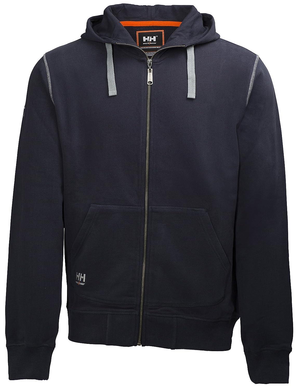 79028 Helly Hansen Workwear Oxford FZ Hoodie Jumper with Zip 79028