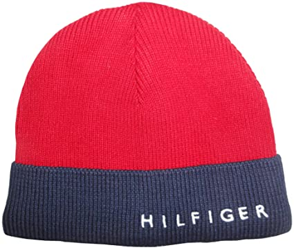Image Unavailable. Image not available for. Color  Tommy Hilfiger Men s Skull  Cap Red 9df455b88a3