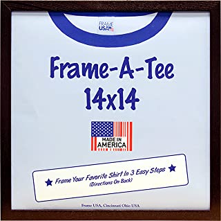 product image for T-Shirt Frame (14x14, Walnut)