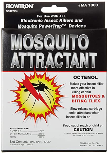 Amazon Flowtron MA 1000 Octenol Mosquito Attractant Cartridge