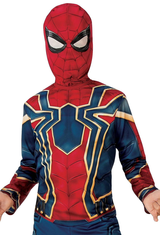 Rubies - Disfraz Spiderman Iron Spider para niño, Infinity War, L (8-10 años), 147 cm: Amazon.es: Juguetes y juegos