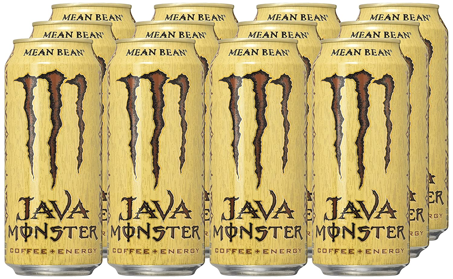 Number ten cans for sale - Java Monster Mean Bean 15 Ounce Pack Of 12 Amazon Com Grocery Gourmet Food
