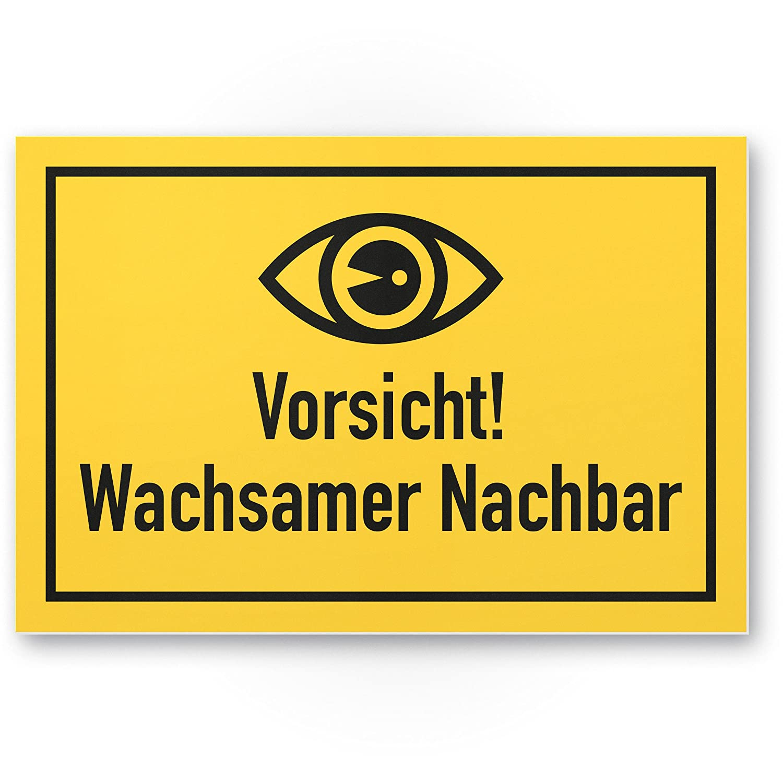 wachsamer Vecino - Rótulo - Complemento para videovigilancia ...