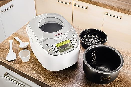 Moulinex Maxichef Advance MK812121 - Robot de cocina con 45 programas de coccion, capacidad 5 litros, programable hasta 24 horas (Reacondicionado): Amazon.es: Hogar
