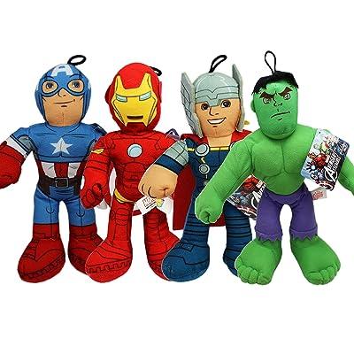 15 Inch Marvel Avengers Assemble Set of 4 Stuffed Plush Doll hot sale