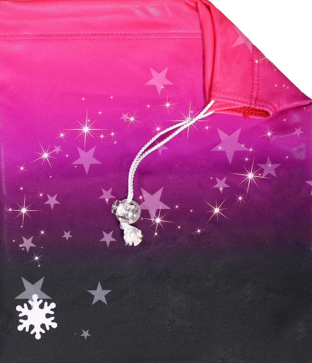 Snowflake Designs Fame Gymnastics Grip Bag in Pink Can be Customized with Name