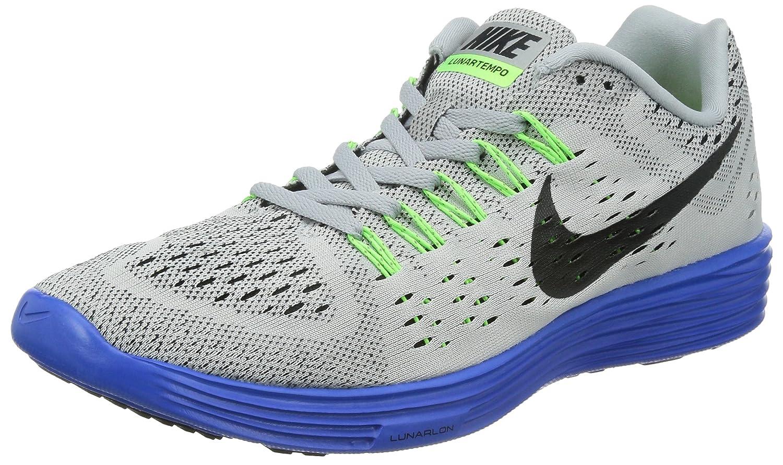 sale retailer ca28d d1453 Nike Men's LunarTempo Grey/Royal/Lime/Black Running Shoes - 10 D(M) US
