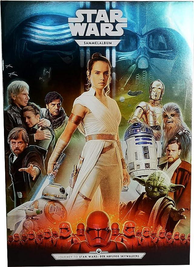 100 Star Wars Sammelkarten von Kaufland Tüten Sticker 50 Päckchen je 2 Karten
