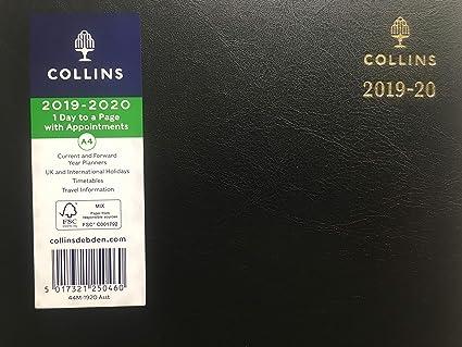 2019-2020 - Agenda de escritorio (tamaño A4, año académico ...