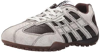 baby modisches und attraktives Paket Verarbeitung finden Geox U Snake K Herren Sneaker, Weiß - Blanc (C0231), 47 EU ...