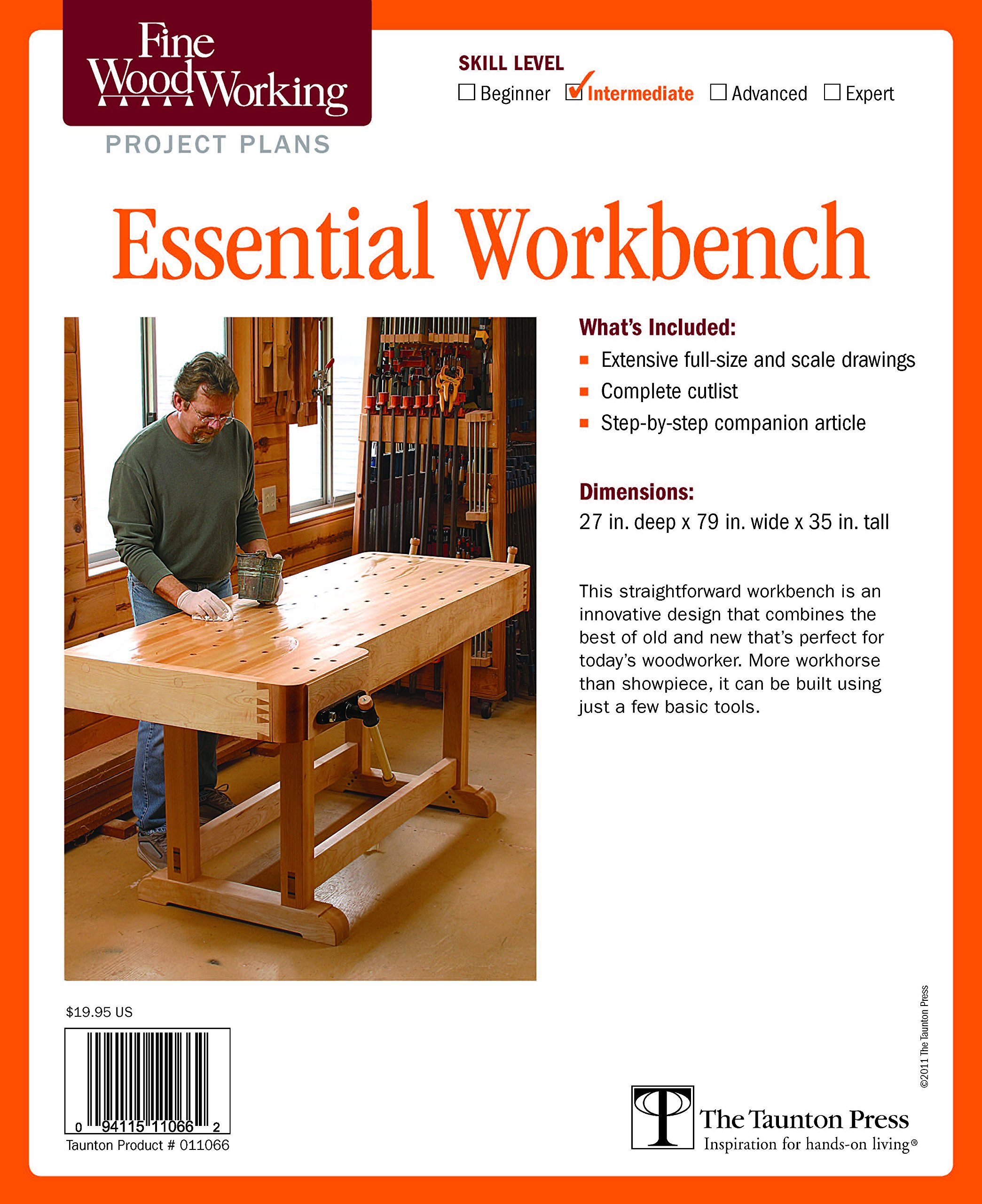 Fine Woodworking's Essential Workbench Plan