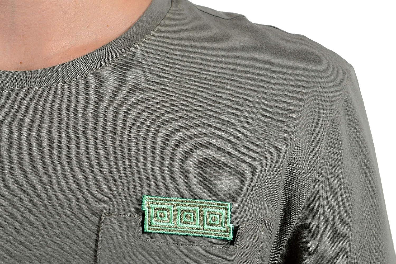 Versace Collection Mens Gray Pocket Crewneck T-Shirt Size US S IT 48