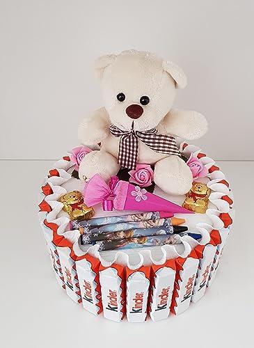 Kinderschokolade Torte Fur Madchen Schultute Zuckertute Geschenk