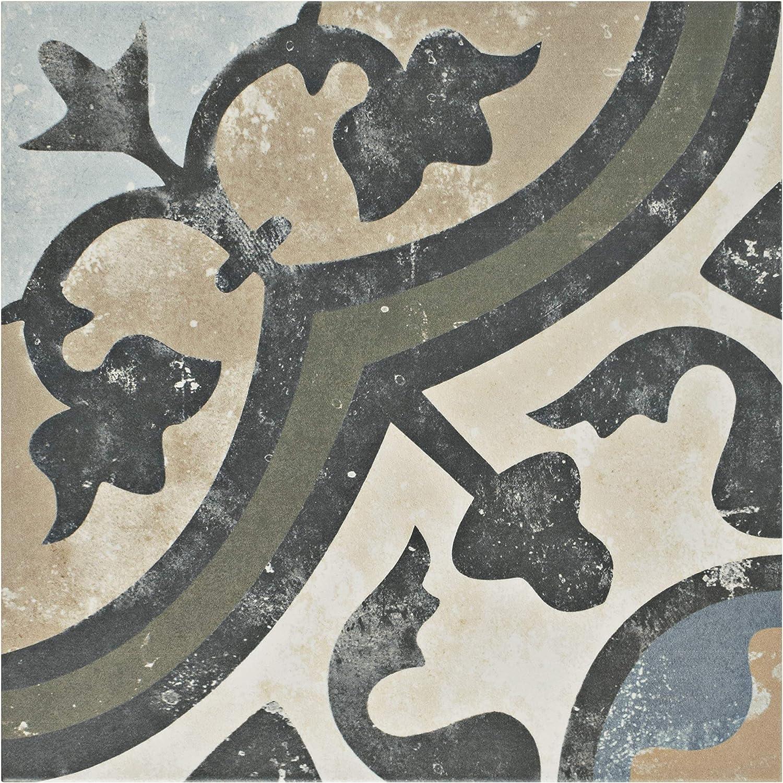 SomerTile FCD10EVC FPESAJB Murcia Ceramic Floor and Wall Tile, 13