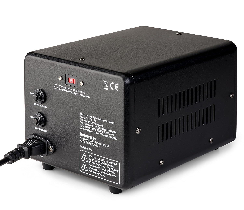 Bronson Ti 1500 110 Volt Usa Spannungswandler Elektronik To Split This Into A 120v And 220v Circuit