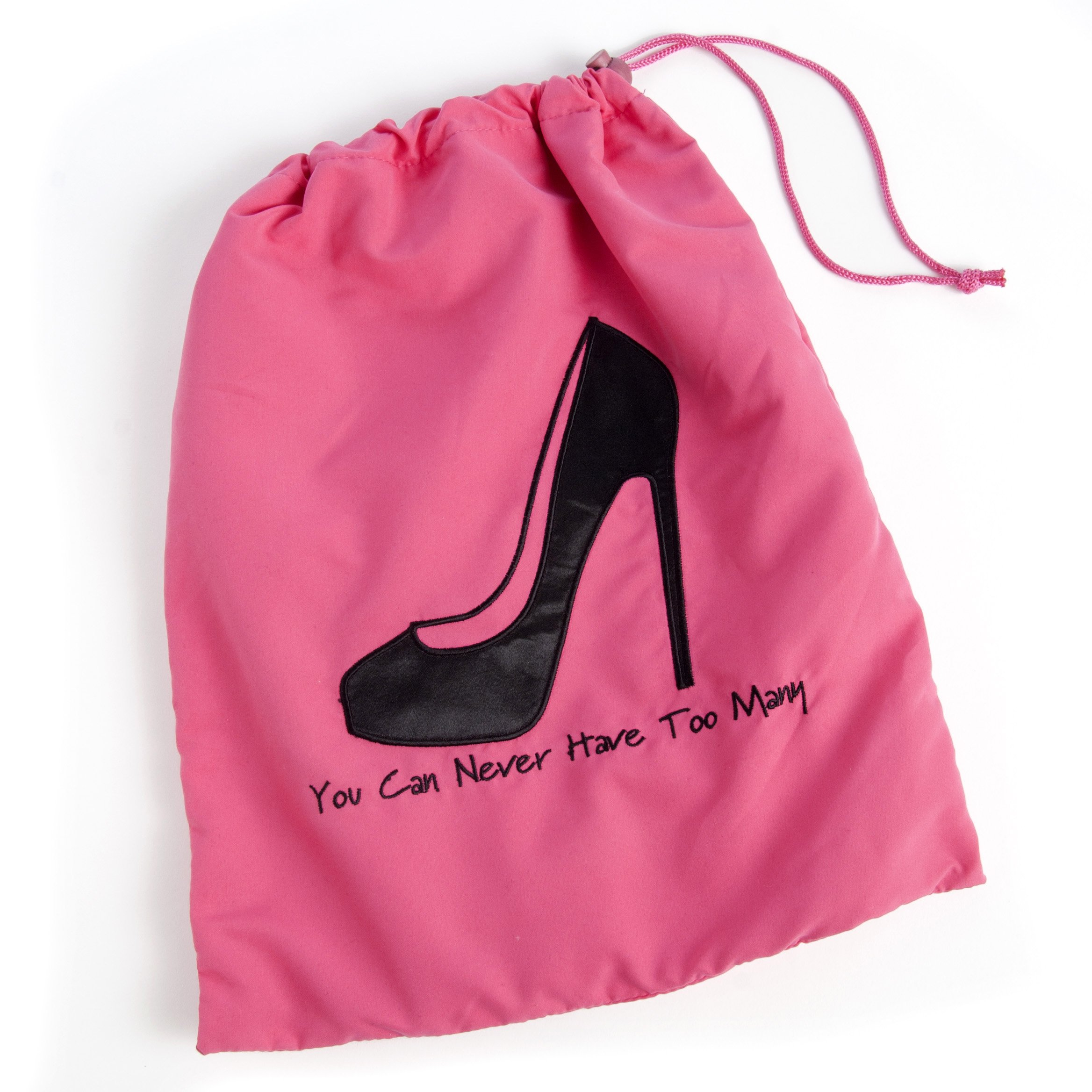 Miamica Shoe Bag You Can Never Have Too Many, Fuchsia, One Size
