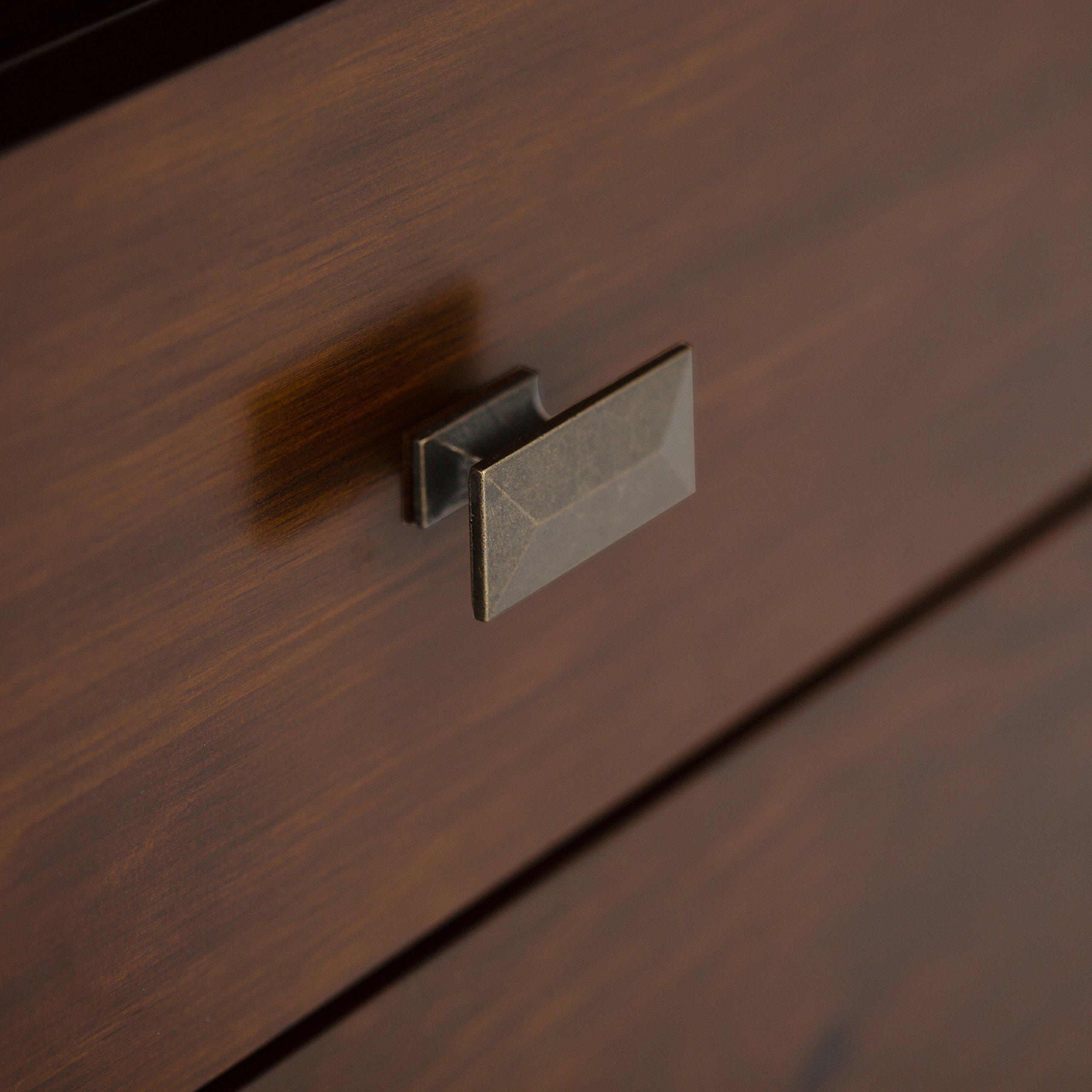 Simpli Home Artisan TV Media Stand for TVs up to 60'', Medium Auburn Brown by Simpli Home (Image #7)