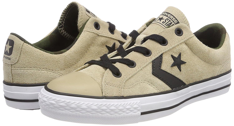 5c16398c Adulto Sneaker Unisex Sneaker Unisex Converse Star Player Ox Vintage Khaki/ Black/White Adulto 159728C
